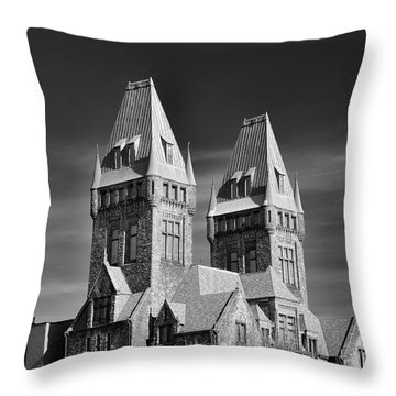 Richardson Building 3439 Throw Pillow