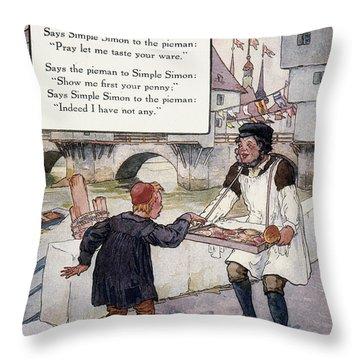 Richardson: Simple Simon Throw Pillow by Granger