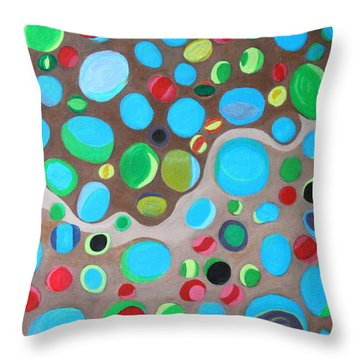 Riches Of People On Earth  Throw Pillow