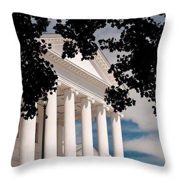 Richmond Capital Throw Pillow