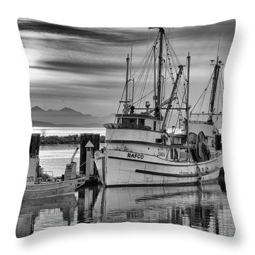 Richmond Fish Boat Throw Pillow