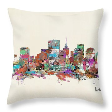 Richmond Virginia Throw Pillow