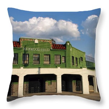 Rickwood Field Throw Pillow by Tom Gort
