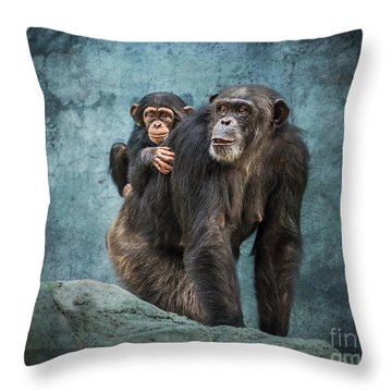 Ride Along Throw Pillow by Jamie Pham