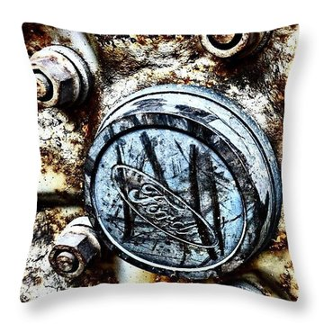 Rusty Rim 2 Throw Pillow