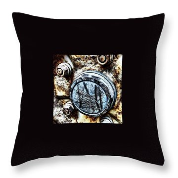 Engine Throw Pillows