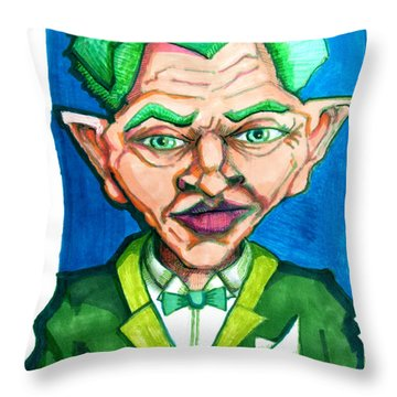Ridiculously Successful Future Self Throw Pillow by Del Gaizo