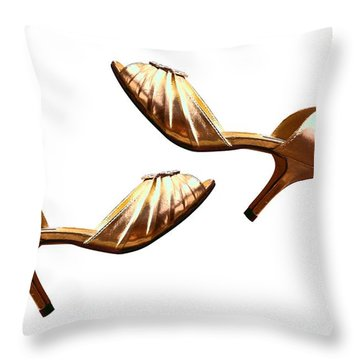 Ridin' High With Steve Maddens Throw Pillow by Saad Hasnain