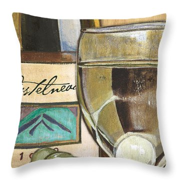 Riesling Throw Pillow
