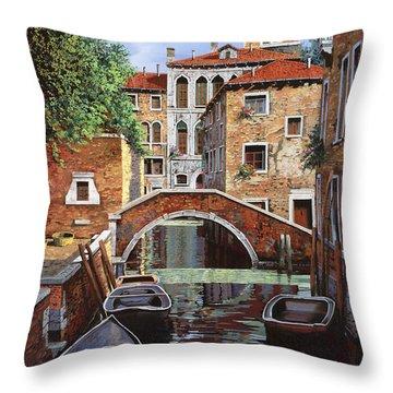 Riflessi Di Venezia Throw Pillow