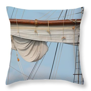 Rigging Throw Pillow