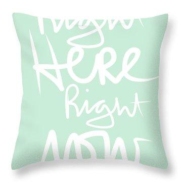 Script Throw Pillows