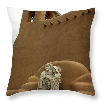 Righteous And Mercy Throw Pillow