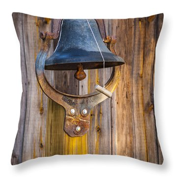 Ring My Tennessee Bell Throw Pillow