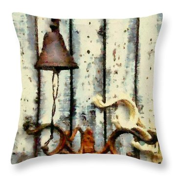 Ring The Bell Throw Pillow