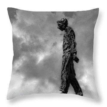 Ring Walker II Throw Pillow