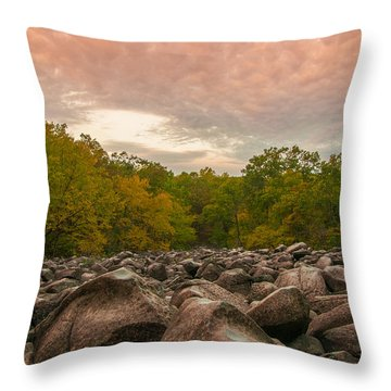 Ringing Rock Throw Pillow
