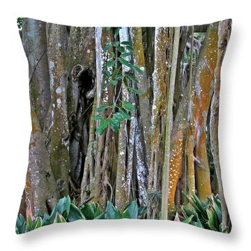 Ringling Trees 1 Throw Pillow