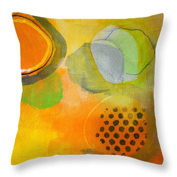 Rings And Circles Throw Pillow