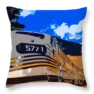 Rio 5771 Throw Pillow by Shannon Harrington