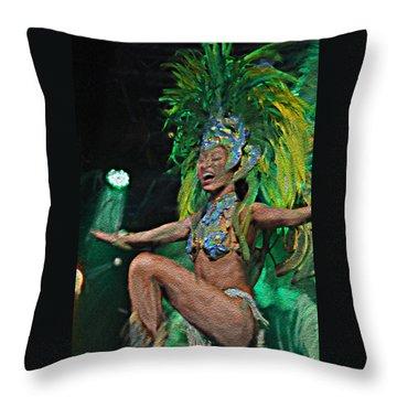 Rio Dancer I A Throw Pillow