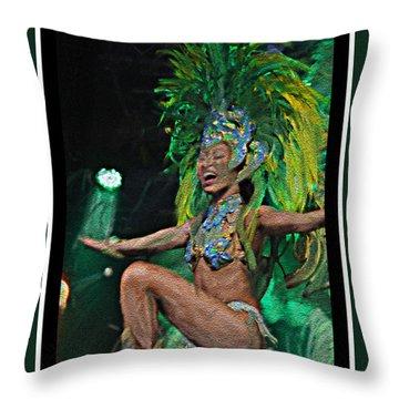Rio Dancer I B  Throw Pillow