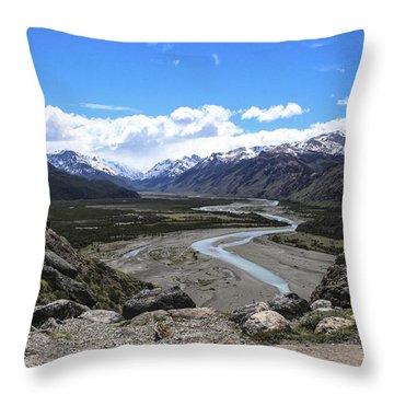 Throw Pillow featuring the photograph Rio De Las Vueltas by Gary Hall