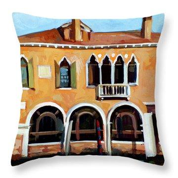 Rio Del Malcanton Throw Pillow by Filip Mihail