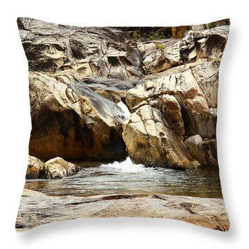 Rio On Pools Throw Pillow