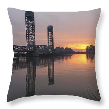 Rio Vista Bridge Throw Pillow