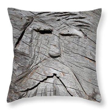 Rip Van Winkle Throw Pillow by Tikvah's Hope