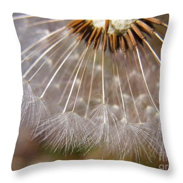 Throw Pillow featuring the photograph Ripe To Fly by Agnieszka Ledwon