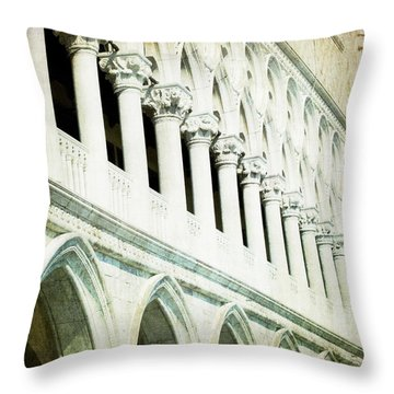 Ripeti - Venice Throw Pillow by Lisa Parrish