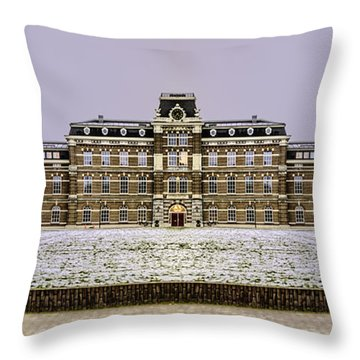 Ripperda Kazerne - Haarlem - The Netherlands Throw Pillow