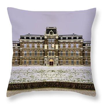 Ripperda Kazerne - Haarlem - The Netherlands Throw Pillow by Yvon van der Wijk