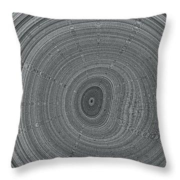 Ripple Throw Pillow by Pharris Art