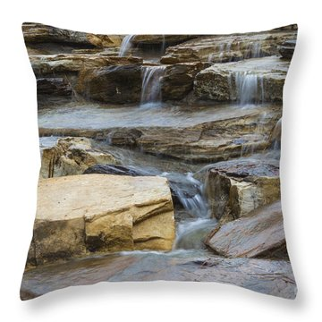 Ripples Of Water Throw Pillow