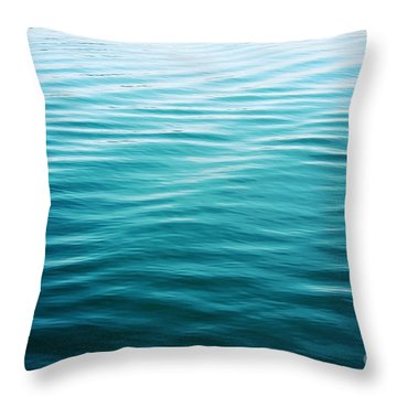 Throw Pillow featuring the photograph Ripples by Sylvia Cook