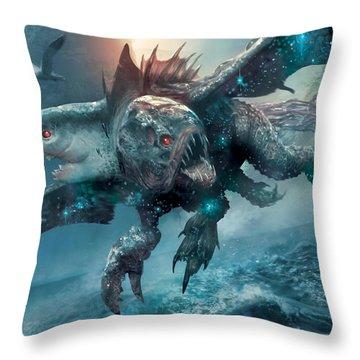 Riptide Chimera Throw Pillow