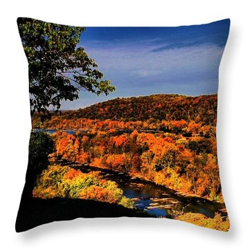 Throw Pillow featuring the photograph Rise And Look Around You by Robert McCubbin