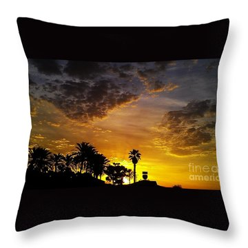Throw Pillow featuring the photograph Rise by Chris Tarpening