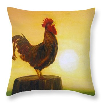 Rise 'n Shine Throw Pillow