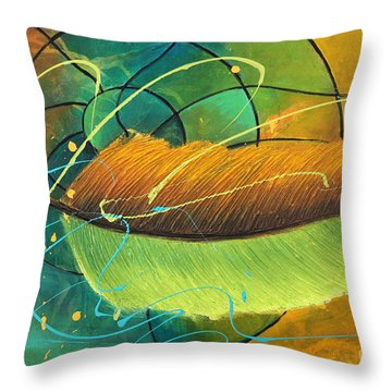 Rise To See Throw Pillow