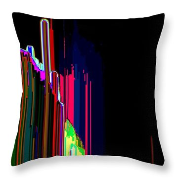 Throw Pillow featuring the digital art Risesb  by Lyle Crump