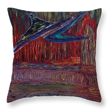 Rising After Fall Throw Pillow