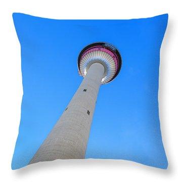 Rising High Throw Pillow