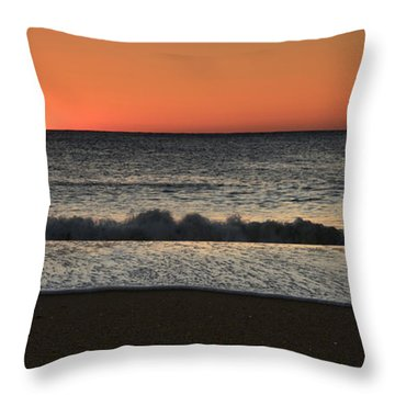Rising To The Occasion - Jersey Shore Throw Pillow