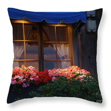 Ristorante Throw Pillow by Bev Conover