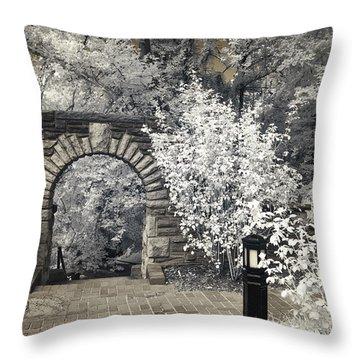 Ritter Park Arch Throw Pillow