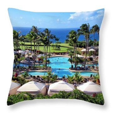 Ritz Carlton 17 Throw Pillow